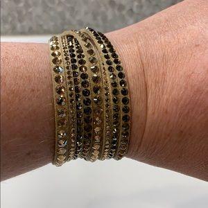 Swarovski Jewelry - Swarovski gold bracelet